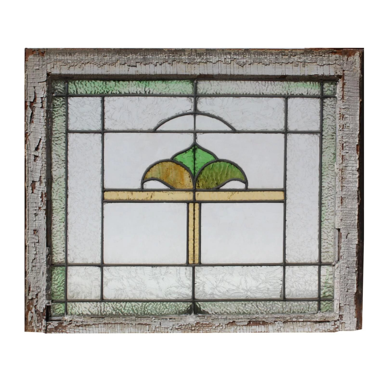 Antique American Stained Glass Windows Early 1900s