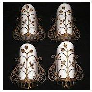 Marvelous Antique Georgian Dore Bronze Sconces