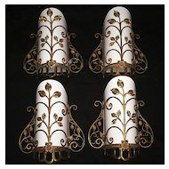 Marvelous Antique Georgian Dore Bronze Sconces