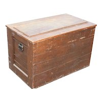 Reclaimed Antique Wood Trunk