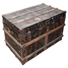 Reclaimed Antique Trunk