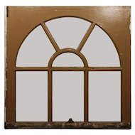 Reclaimed Antique Arched Window, c. 1910