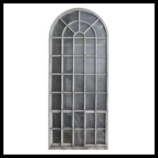 Antique 11' Arched Palladian Windows, c. 1910