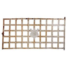 Antique Window Guard with Shield