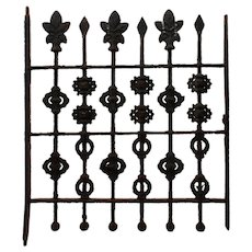 Antique Iron Window Guards, Early 1900s
