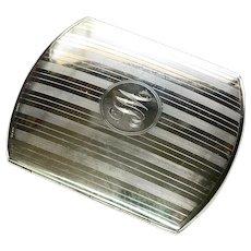Sterling Silver Edwardian English Cigarette Case-79 Grs.