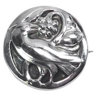 Georg Jensen Sterling ~ Dove Brooch #212
