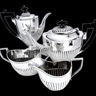 Tea & Coffee Sterling Silver Service ~ Birks
