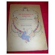 "RARE Art Deco, ""The Romance of Perfume"", First Edition 1928 Barbier Drawings"
