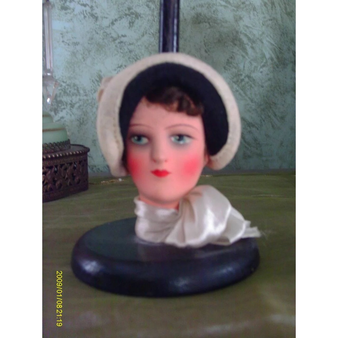 7298bf725a1 1920 30 Deco Flapper Doll Hat Stand 9