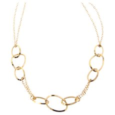 14k Gold Chain Necklace 18 Inches
