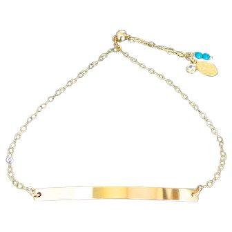 Friendship Bracelet, Adjustable Bracelet, Skinny Bar Layering Bracelet, Bolo Bracelet, Gold Filled or Sterling Silver