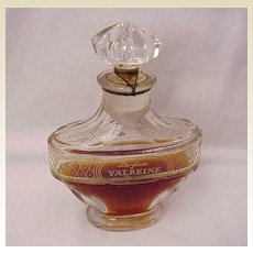 "Parfums Violet Paris ""Valreine"" Perfume with Bottle by Baccarat - Circa 1911"