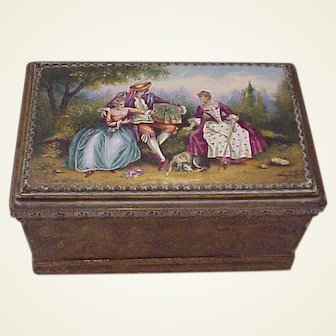 Austrian Working Musical Jewel / Trinket Casket - Circa 1925