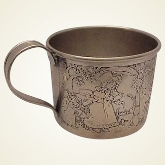 Kerr Sterling Baby Cup # 1530 - c. 1915