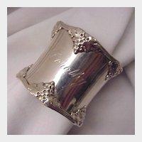 Gorham Sterling Napkin Ring # 270B - Date Mark 1905