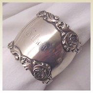 Unger Bros. Sterling Napkin Ring - Circa 1900
