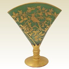 DeVilbiss Kingfisher Fan Vase - Circa 1927