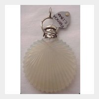 French Opaline Scent Bottle - Circa 1840