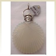 French Opaline Scent Bottle Circa 1840