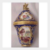 Staffordshire Enamel Perfume Bonbonniere Circa 1765