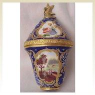 English Enamel Perfume Bonbonniere Circa 1765