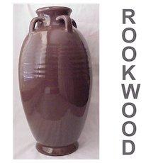 Hand Thrown Rookwood Floor Vase D. 1917