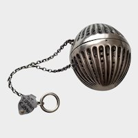 Tiffany & Co. Sterling Tea Ball - Circa 1890