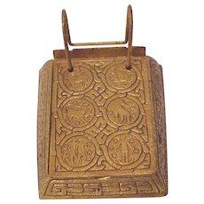 Tiffany Zodiac Note Pad # 1093 - Circa 1900