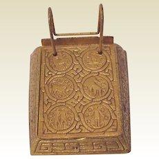 Tiffany Studios Zodiac Note Pad Holder # 1093 - Circa 1900