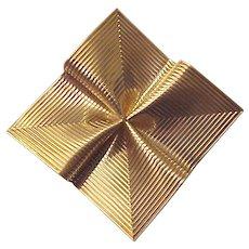 Tiffany and Co. 18kt. Gold Pin - Circa 1950