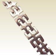 Georg Jensen Sterling Modern Period Bracelet # 103 - Circa 1960