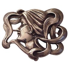 Kerr Sterling Art Nouveau Pin #1273 - Circa 1905