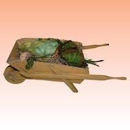 HOLIDAY SALE!  Garden Wheelbarrow for Beatrix Potter Bunny's, R John Wright