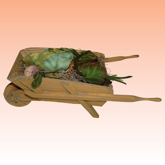 HOLIDAY SALE!  Garden Wheelbarrow for Beatrix Potter Bunny's, R John Wright