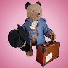 HOLIDAY SALE!  Paddington Bear by R John Wright