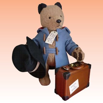 HOLIDAY SALE!  Paddington Bear by R John Wright