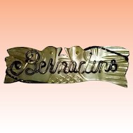 Bernadine Name Pin for Doll