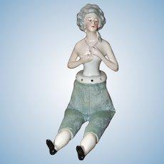 Elegant Half Doll with Body
