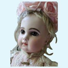 Beautiful EJ Jumeau, E7J Childlike Innocence in Pink