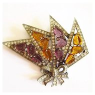 Eisenberg Original Fruit Salad Brooch
