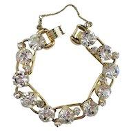 Juliana Sparkling Clear Rhinestone Bracelet