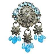 Eisenberg Original Blue Glass Clip