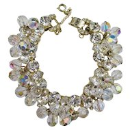 Juliana Clear Crystal & Rhinestone Bracelet