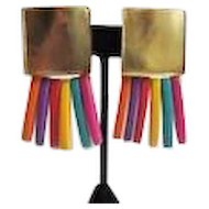 Colorful Les Bernard Earrings