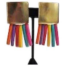 Colorful Les Bernard Earrings