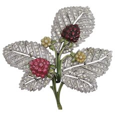 1279aa3761b Red Vintage Pins/Brooches | Ruby Lane - Page 26