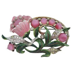 Adorable Flower Brooch