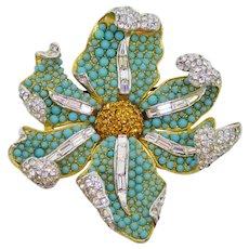 Boucher Flower Brooch