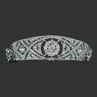 Meghan Markle Rhinestone Wedding Crown Tiara